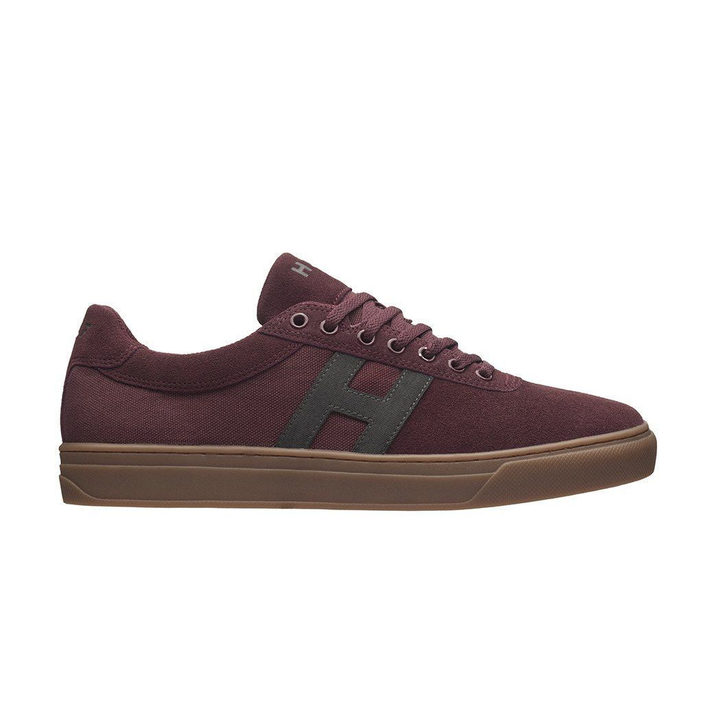 Huf Shoes Soto - Oxblood/Grey