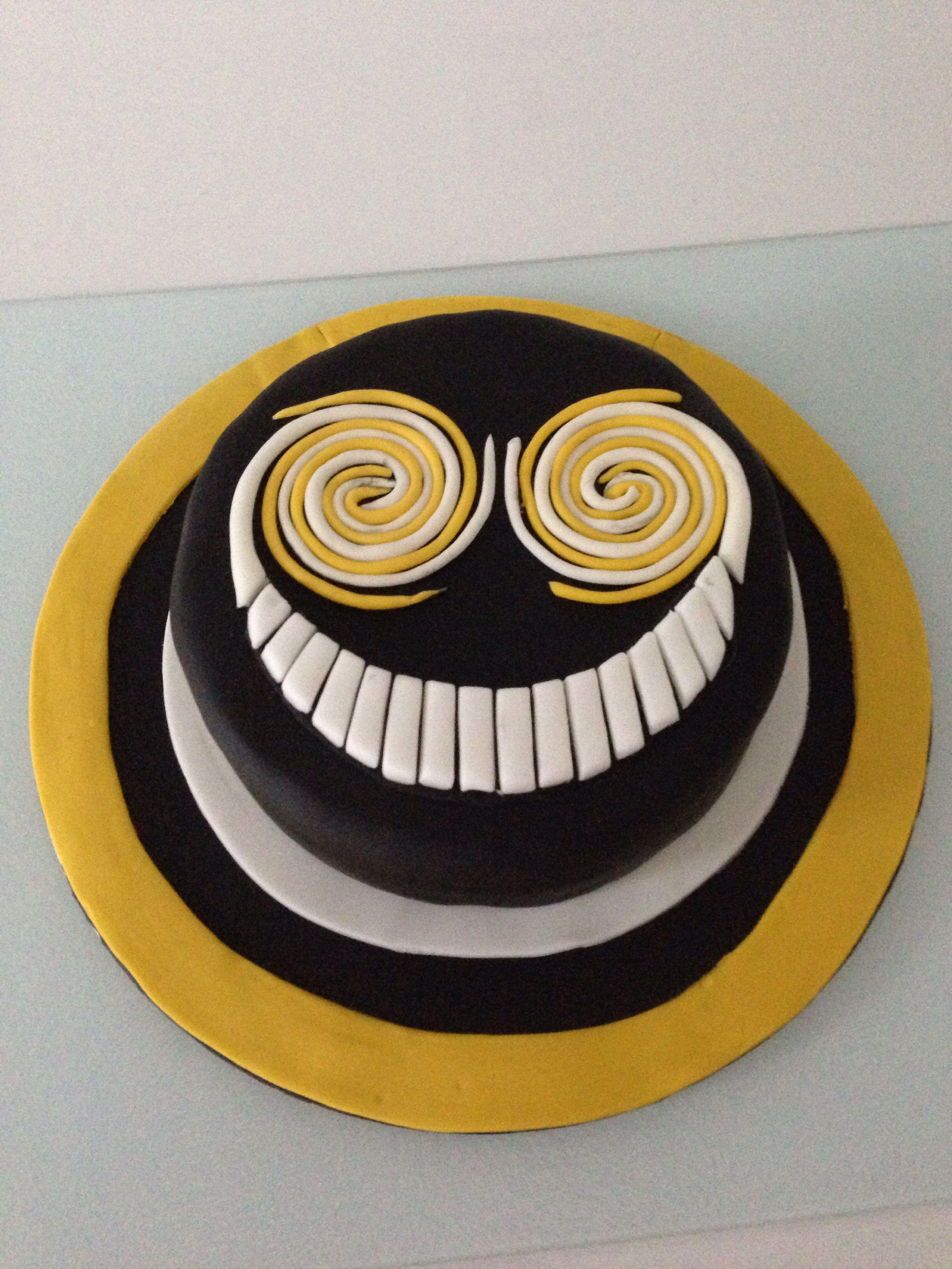 The Smiler Birthday Cake Roller Coaster Cake Fondant Dog No Bake Cake