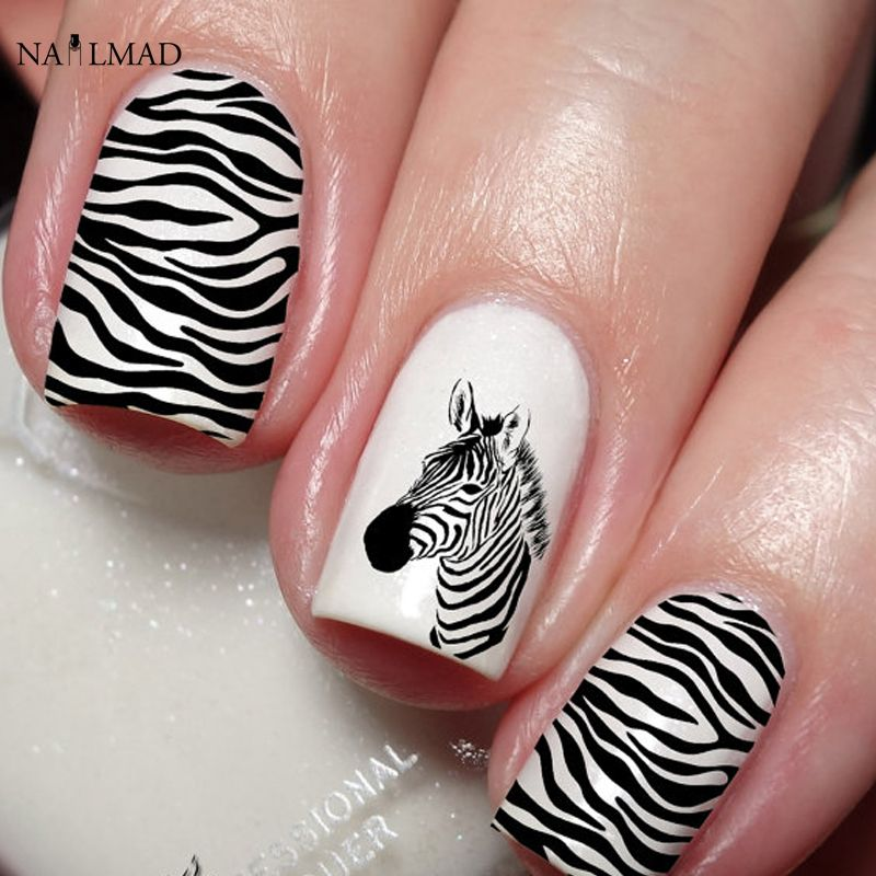 Compare Prices On Nail Art Zebra Online Shoppingbuy Low Price
