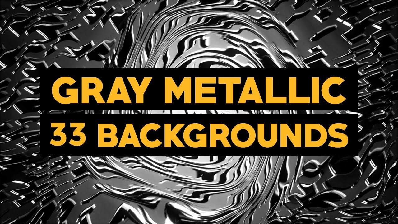 Gray Metallic VJ Loops Video Pack animation abstract