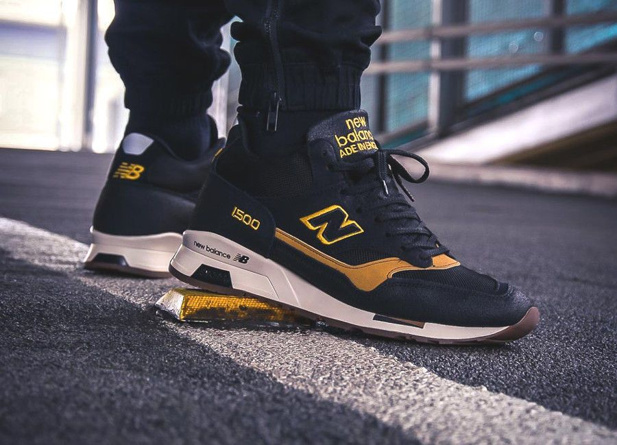 NEW BALANCE MH1500KT - MADE IN ENGLAND NAVY & TAN SNEAKERS ALL ...