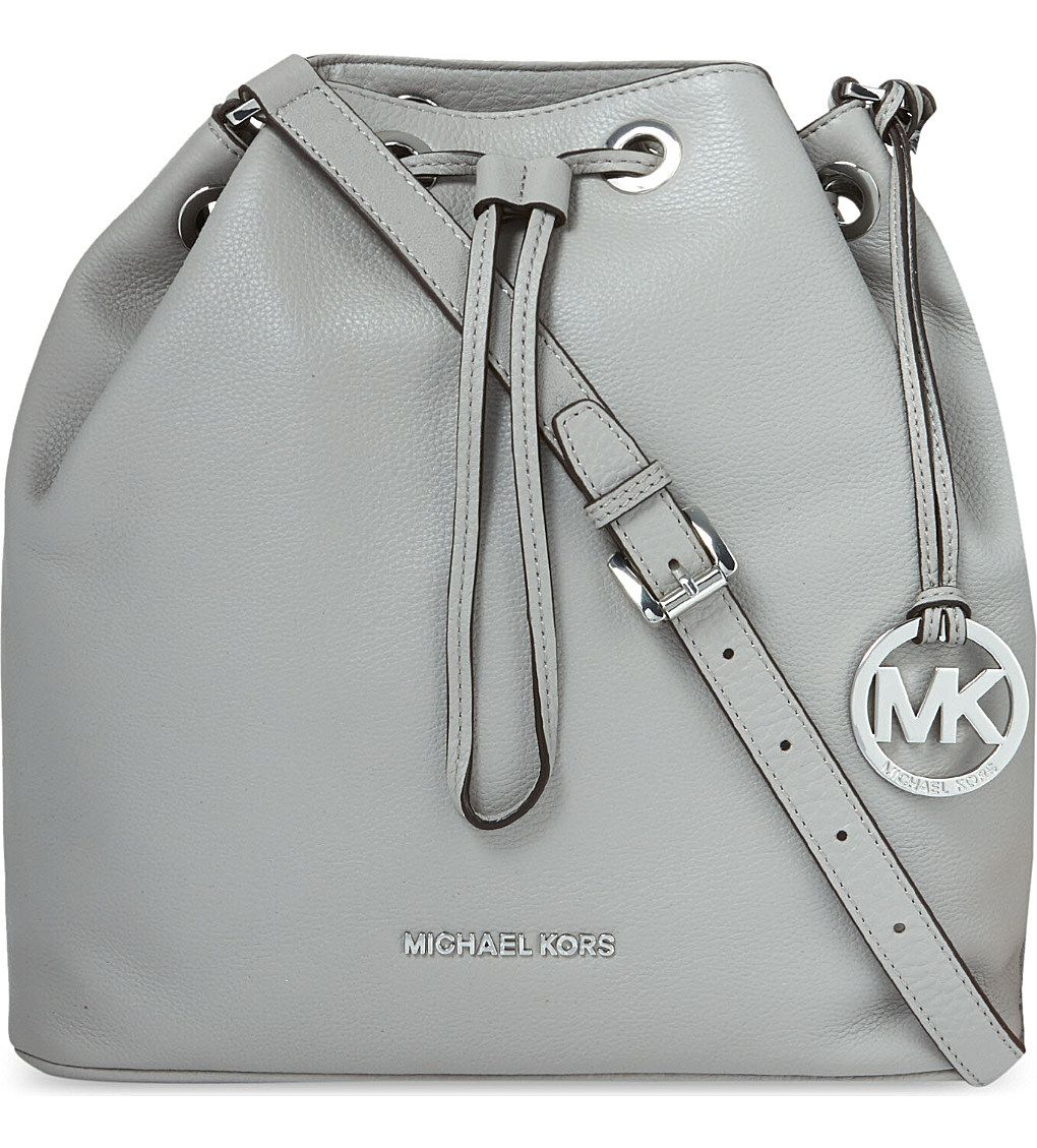 0cce20446415 Bucket bags! MICHAEL MICHAEL KORS - Jules large leather drawstring ...