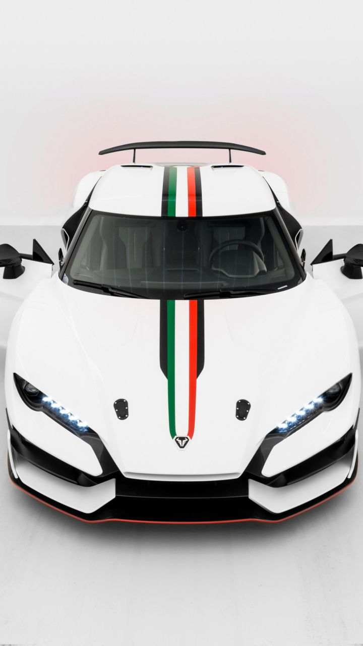 2018 Italdesign Zerouno Sports Car White Sports Lines Front Wallpaper Sports Car Super Cars Car