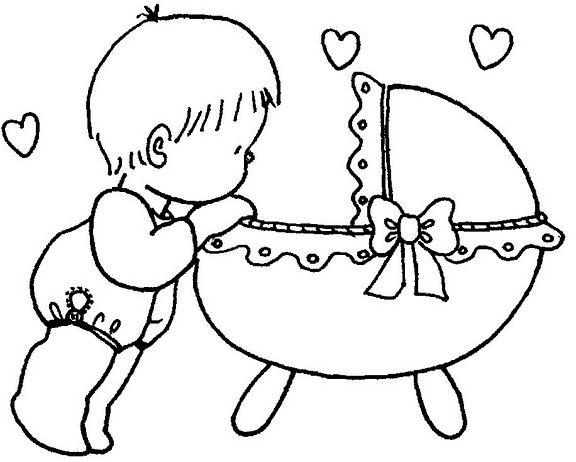 Dibujos De Bebes Disney Para Imprimir: Dibujos Para Pintar Bebes