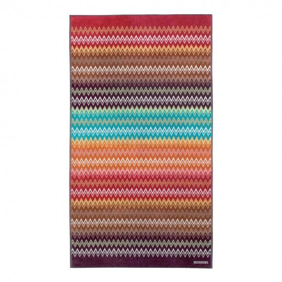 Don't let your style standards slip on the beach … add a hint of 'artiness' to your beach essentials collection with a vibrant, colourful towel from Missoni Home.
