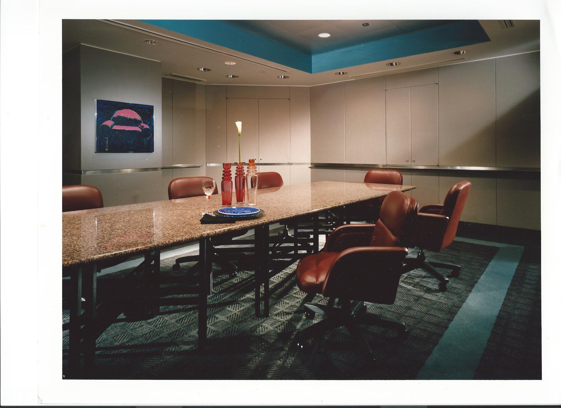 Custom Corparate Conference Room By Ann Holbrook Willis With