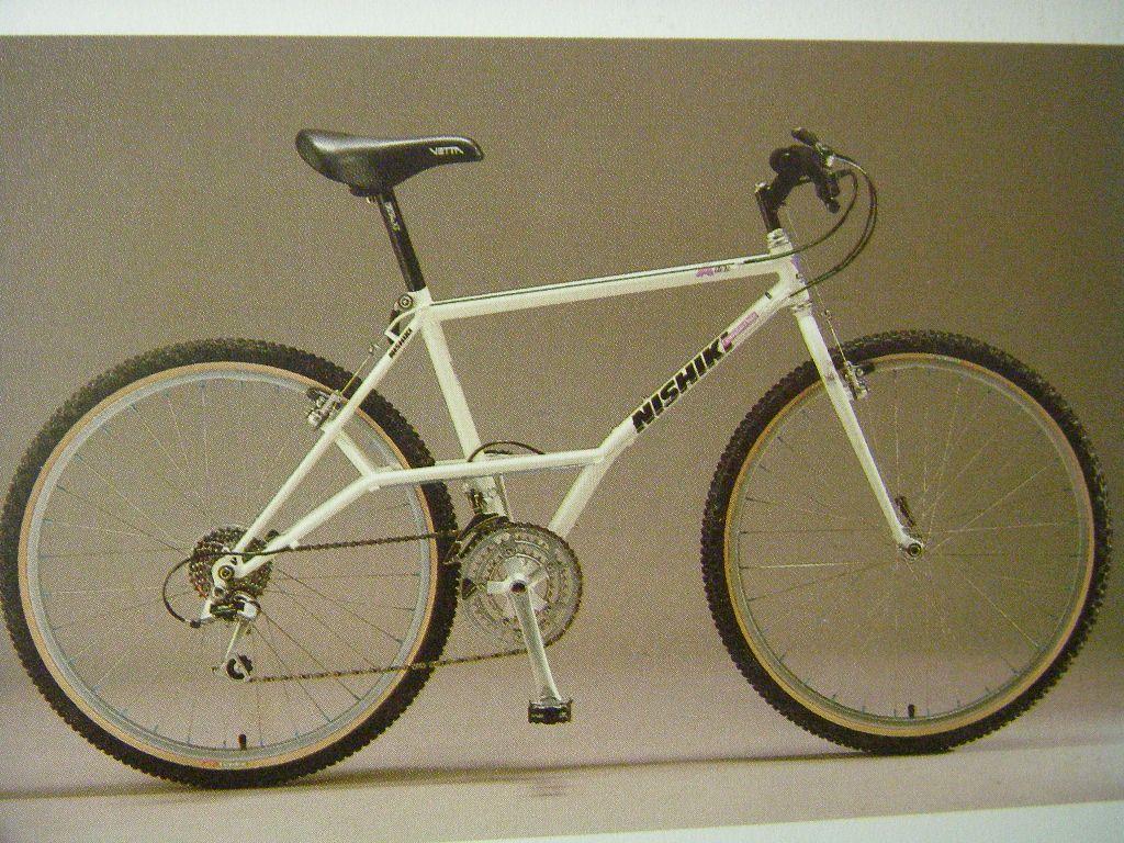 Nishiki Alien Mtb 1990 Retro Bike Vintage Bikes Vintage Bike