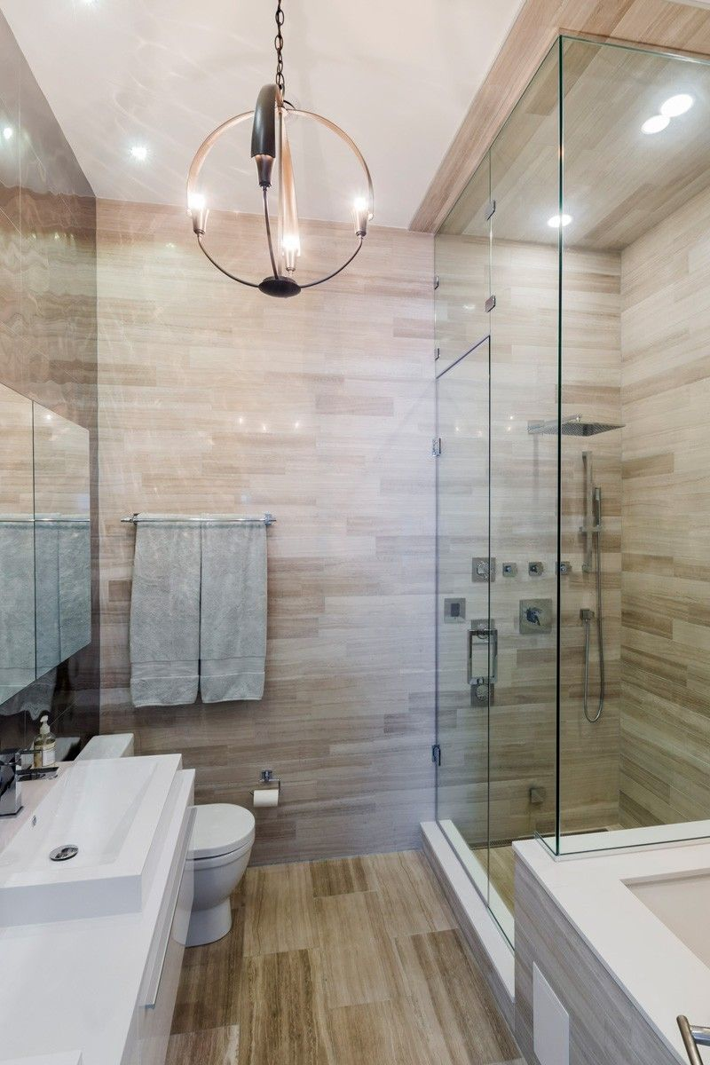 Contemporary condo bath modern bathroom chicago by jill jordan - Contemporary Condo_270315_15