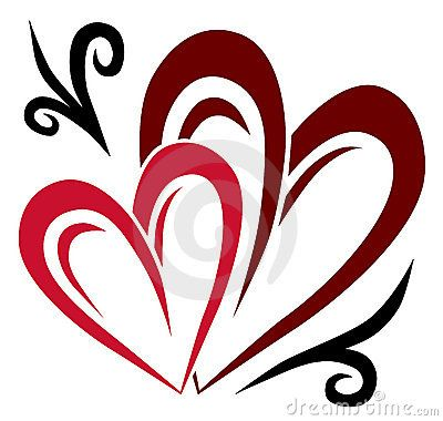 love word art two hearts tattoo royalty free stock photo image rh pinterest ie two hearts intertwined tattoo designs Heart Tattoo Designs and Drawings