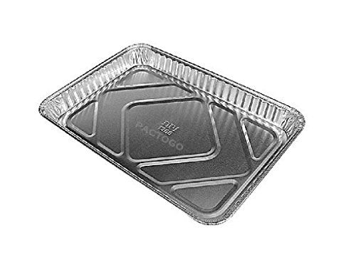 1 4 Size Sheet Cake Aluminum Foil Pan 25 Pk Disposable Quarter Size Trays Aluminum Foil Pans Small Dining Area Baking Tins