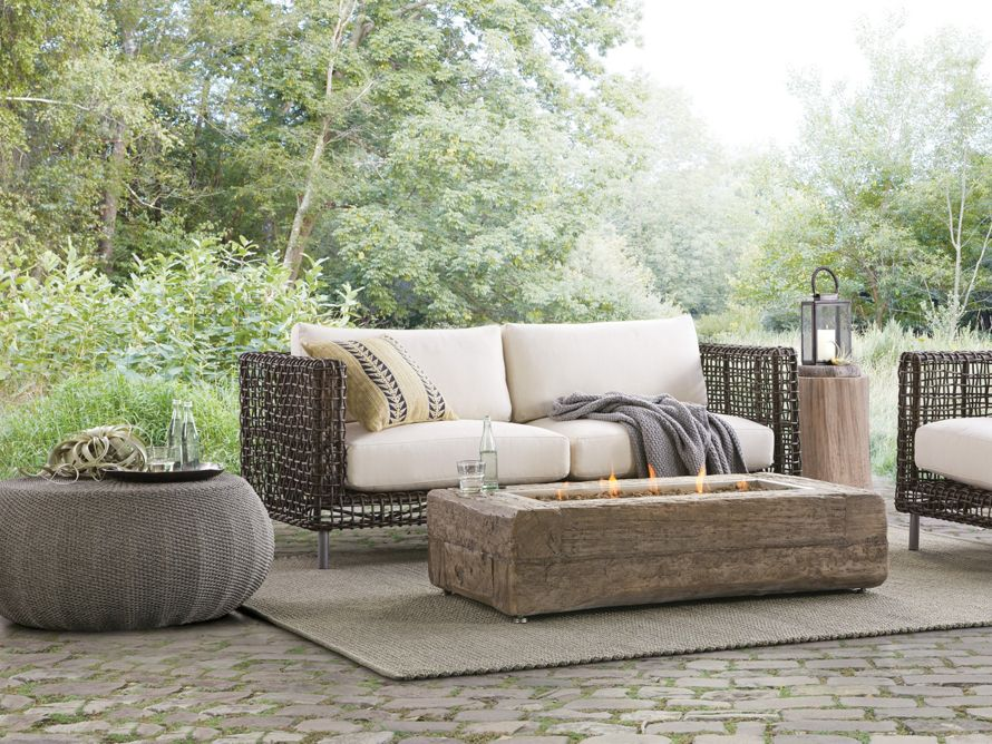 Liddell Outdoor Rug Arhaus Furniture Outdoor Fire Table Outdoor Sofa Outdoor Patio Designs