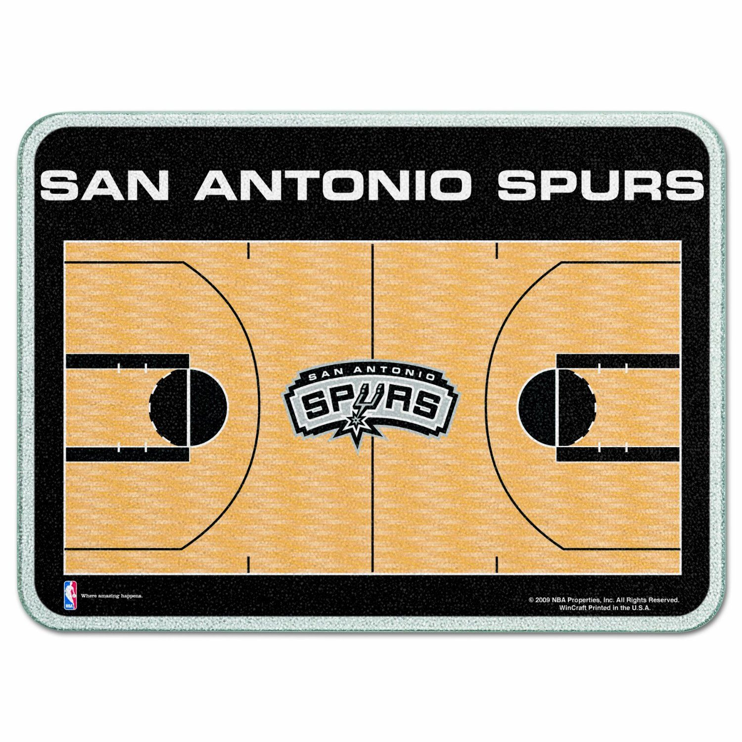 NBA San Antonio Spurs Cutting Board | Sports | Pinterest | San ...
