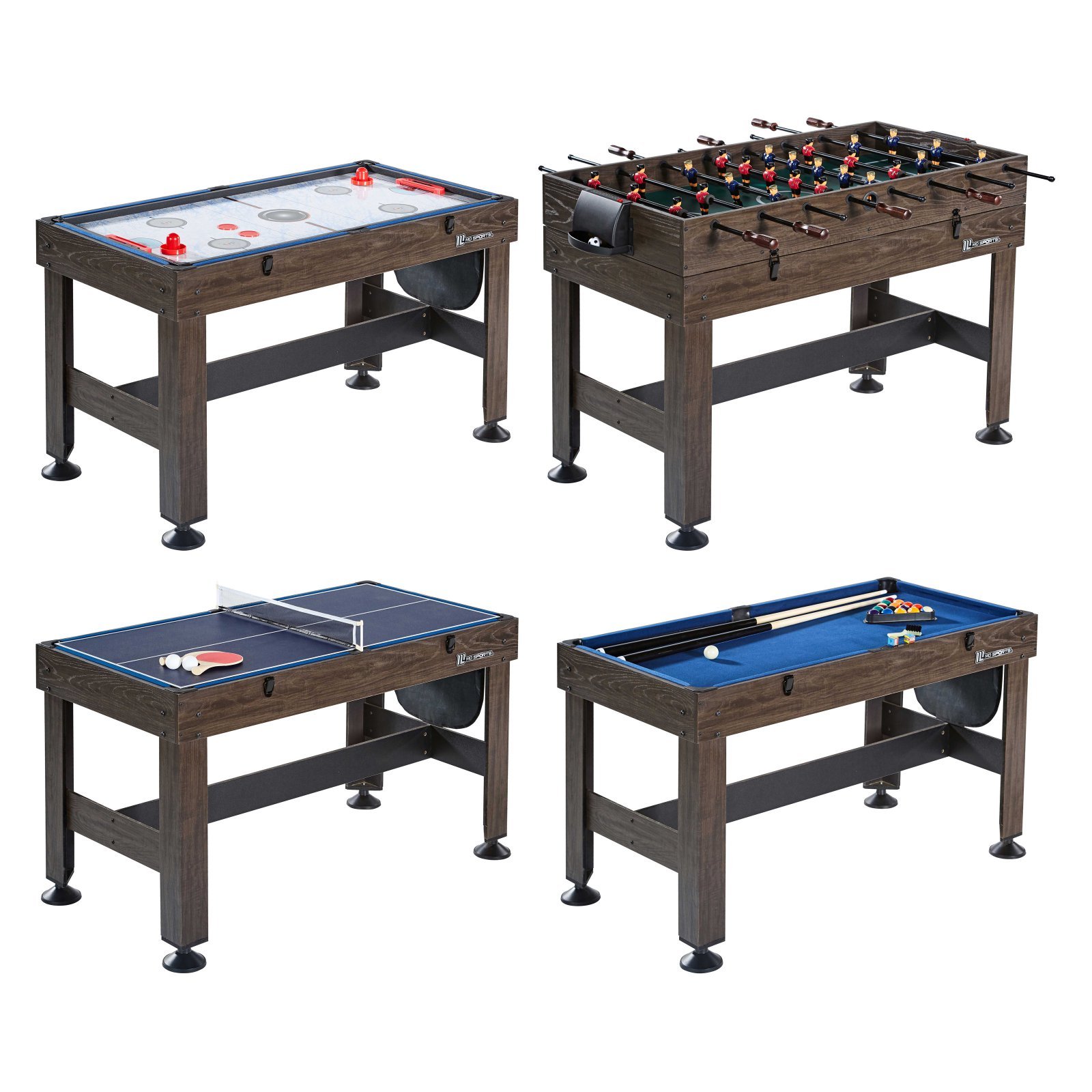 Md Sports 4 In 1 Combo Game Table Multi Game Table Table Games