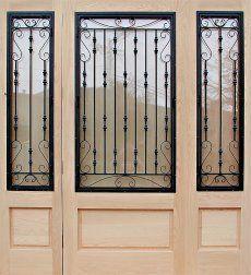 Wrought Iron Door Grill Design