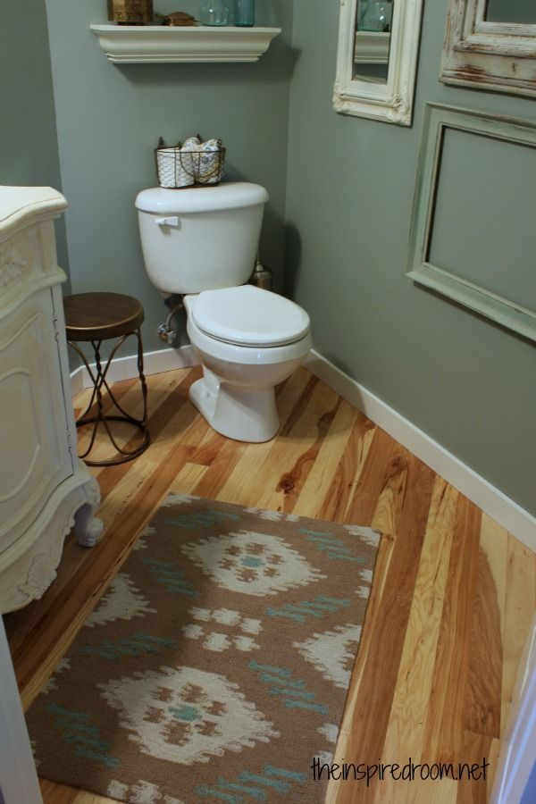 Powder Room Take Two 2nd Budget Makeover Reveal Bathroom Ideas