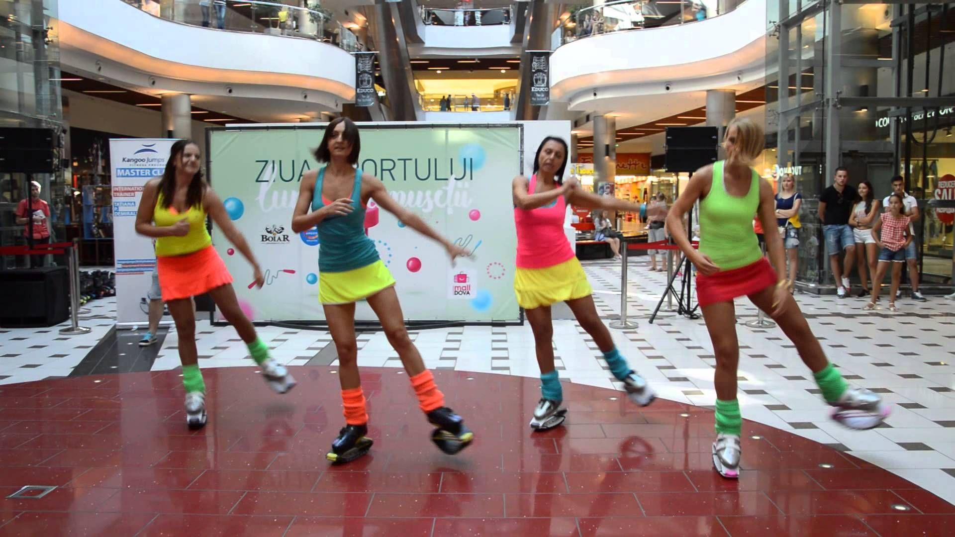 Show Kangoo Jumps Moldova La Shopping Malldova Youtube