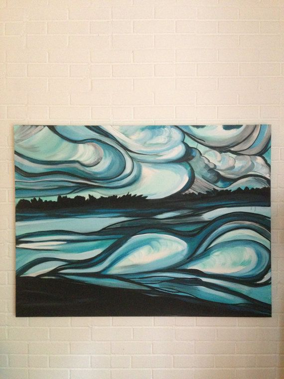 Reflection by PinoGallery on Etsy, $200.00