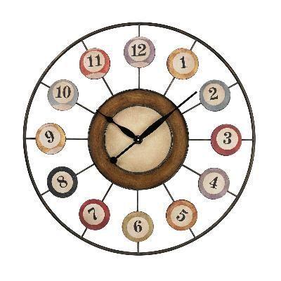 Billiard Ball Wall Clock Adorable! Clocks Pinterest   For the House ...