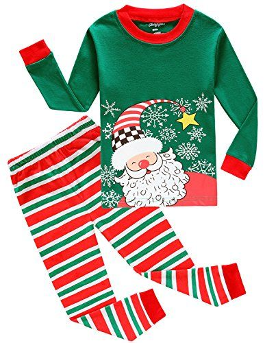 d5bb68b5e8 Boys Christmas Pajamas Big And Little Toddler Pjs Cotton ... https