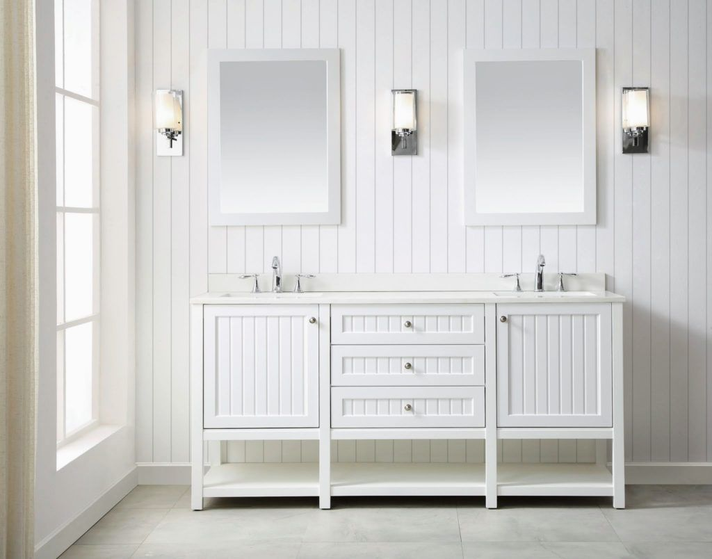 The 72 Inch Vanity Features Two Undermount Sinks Perfect For A