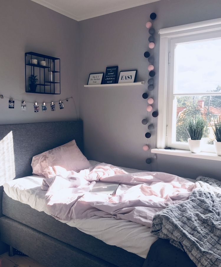 Tumblr Zimmer Ideen · Einzimmerwohnung · Teen Girl Bedroom Decor And  Bedding Ideas. Color Scheme As Well.