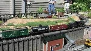 Building Mountains on the Alpine Valley Railroad
