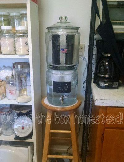 Diy Glass Berkey Diy Glass Water Filter Diy Water Filtration Diy