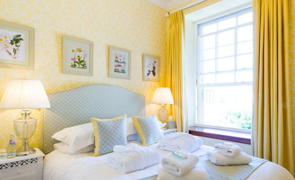 Lemon Decorated Bedroom Guest Bedroom Decor Bedroom Decor Baby Blue Bedrooms Lemon yellow bedroom ideas