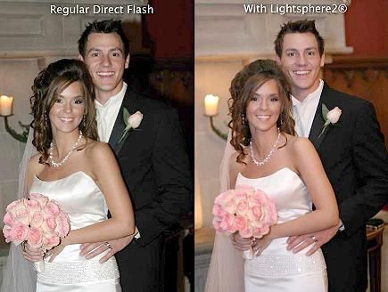 See The Difference With Lightsphere Flash Diffusers