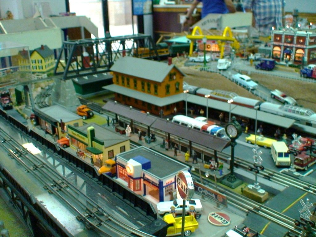 If you think you may be interested in setting up a model train