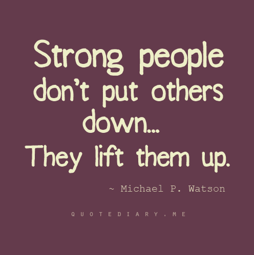 how to lift someone up