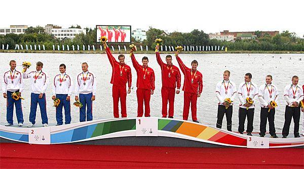 5th WUC Canoe Sprint in Kazan, Russia