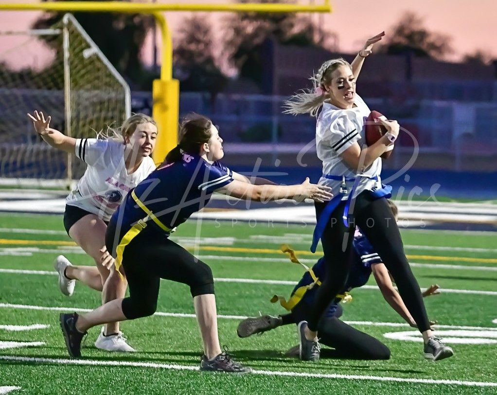 Who says girls can't play football? in 2020 Youth sports