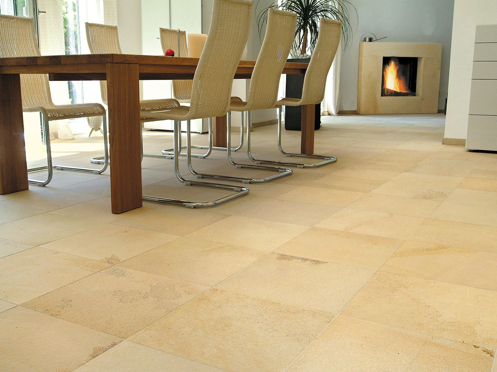 piedra natural solnhofen fsil para suelo en baldosa rectangular
