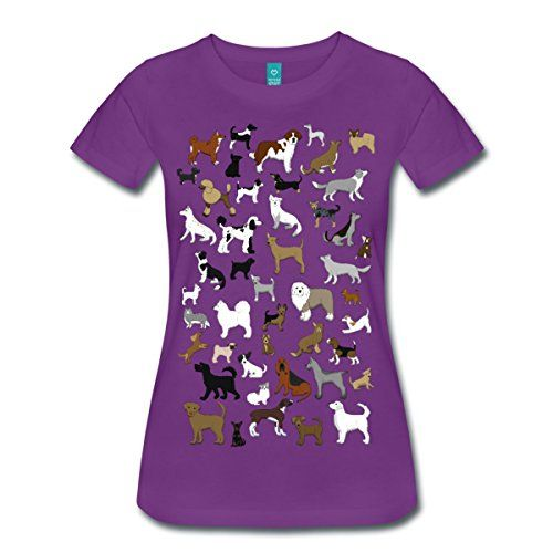 Spreadshirt Damen Hunde Hunderassen T-Shirt, Lila, S Spreadshirt http://www.amazon.de/dp/B00KB5G1HK/ref=cm_sw_r_pi_dp_H6Jpwb0B0XXWK