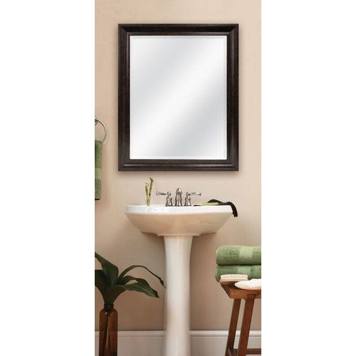 Found it at Wayfair - Bella Bronze Beveled Wall Mirror