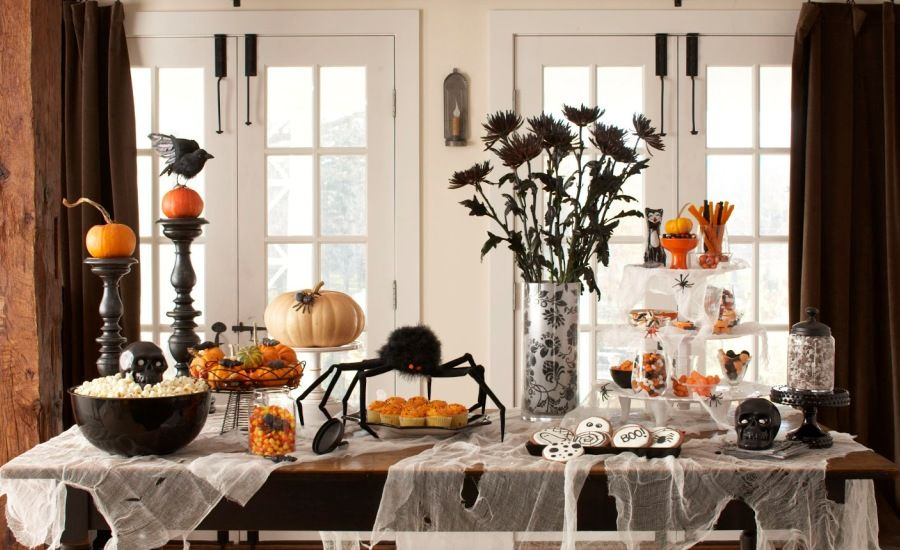 How To Decorate A Small Room For Halloween Cool Inspiration Design