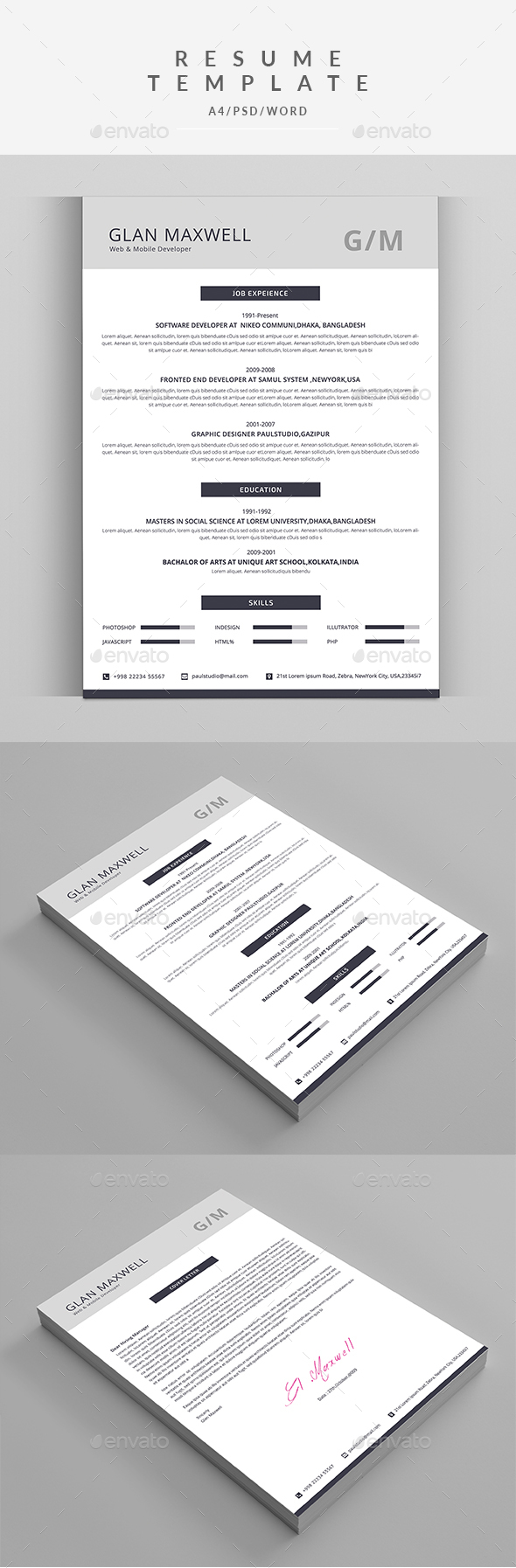 Pin On Best Resume Templates