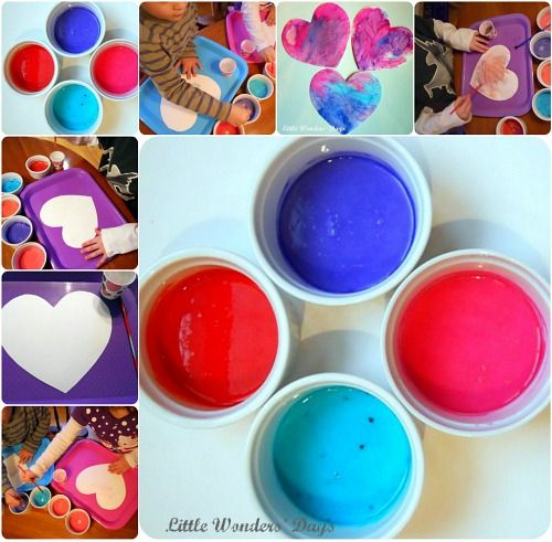 To Make Watercolor Paints 1 Mix 4 Tablespoons Of Baking Soda With