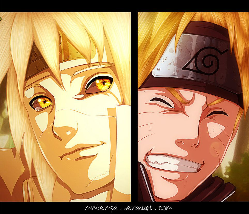 Naruto Chap 644 : Father's pride by MimiSempai on DeviantArt