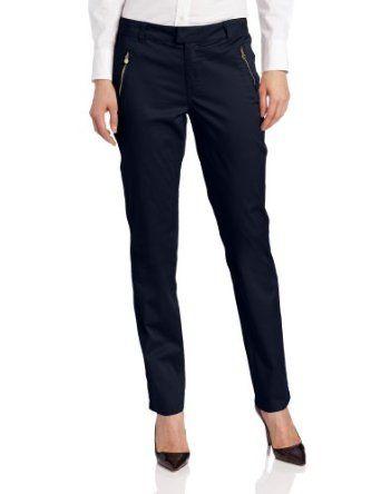 U S Polo Assn Women S Norwalk Slim Trouser Classic Navy 6 U S Polo Assn 28 99 Pants For Women Cool Outfits Casual