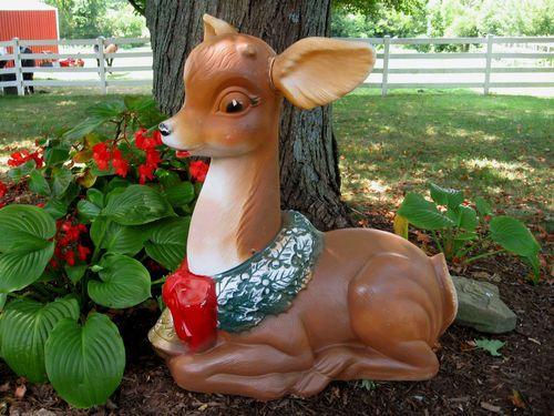 Poloron Reindeer Vintage 60 S Lighted Plastic Mold