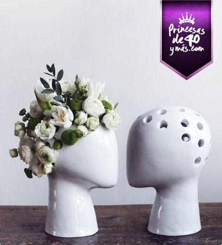 Una Idea Muy Linda Para Poner Nuestras Flores Tip Home Cute Ideas De Maceta Disenos De Unas Arte De Cerámica