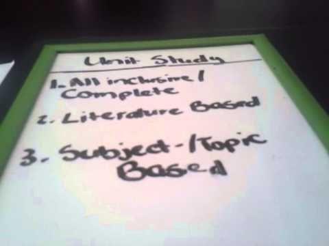 Homeschool Planning: Unit Studies pt. 1