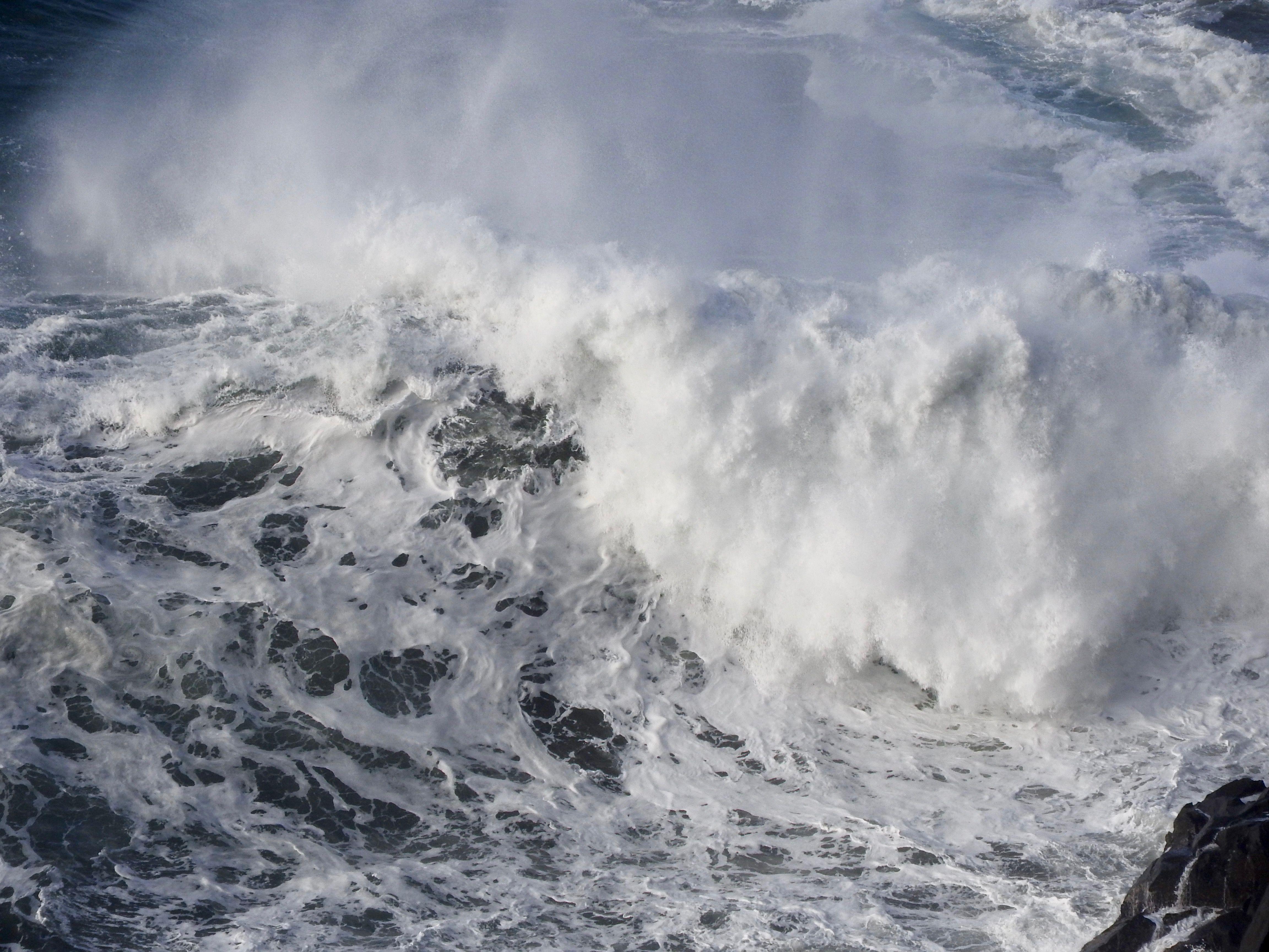 stormy ocean waves crashing on rocks   My Photos   Instagram, Videos