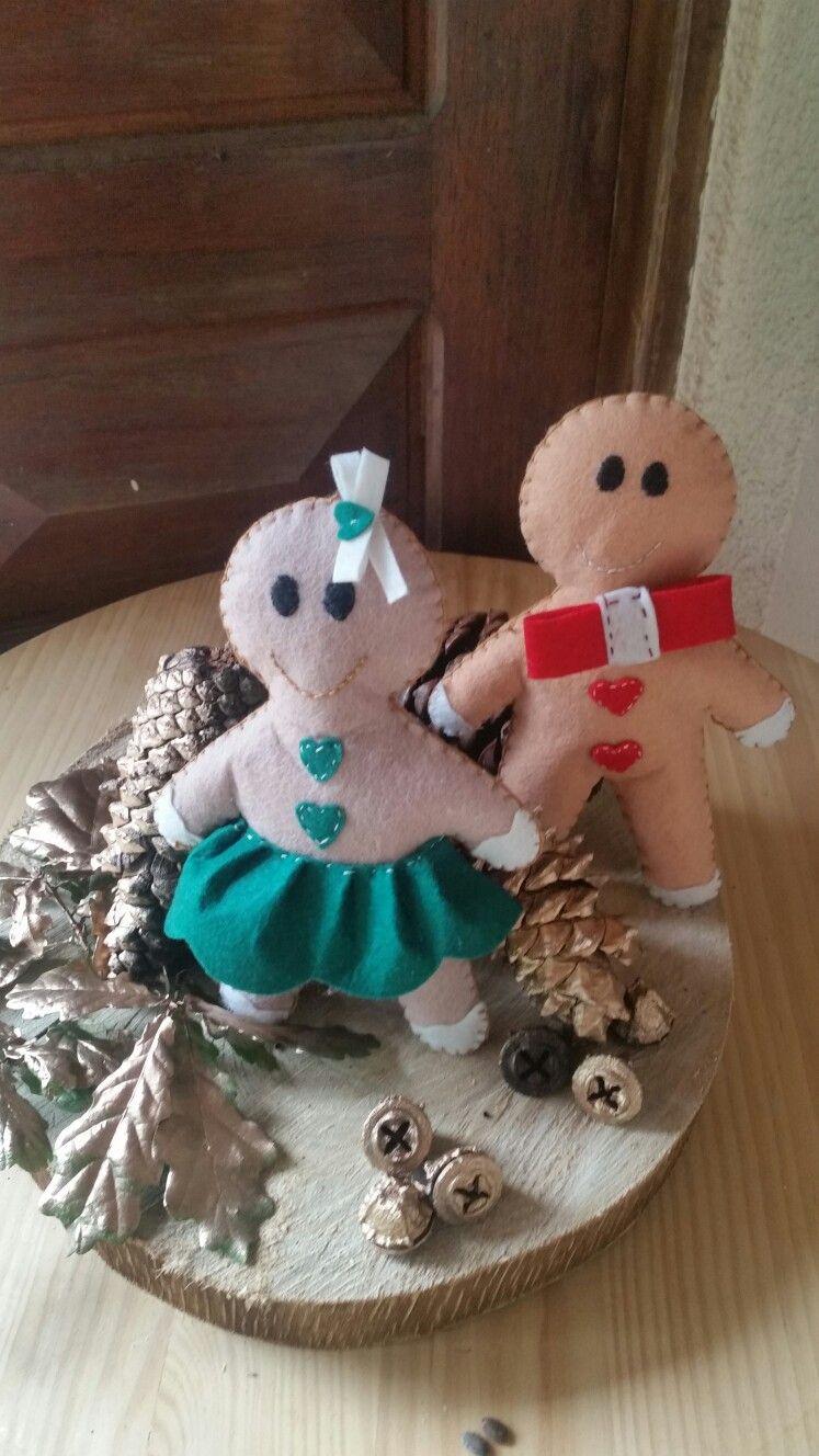 Dulces navidades pareja de muñecos 4.99€ unidad