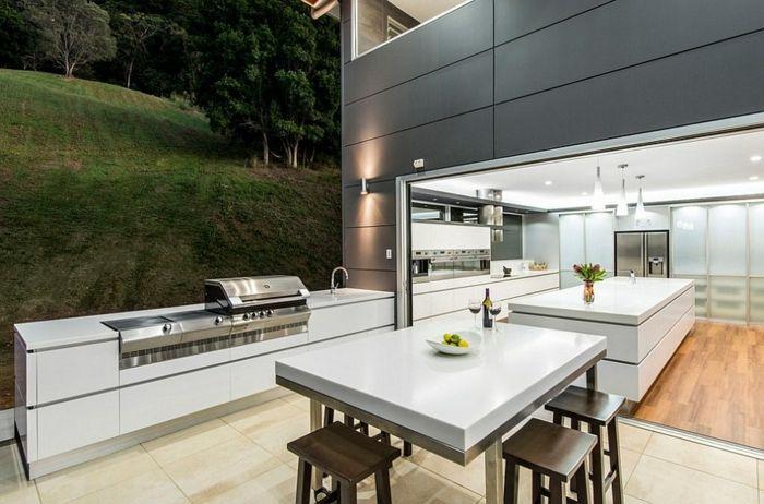 ▷ 1001+ Ideen für Outdoor Grillküche mit modernem Design   Patios