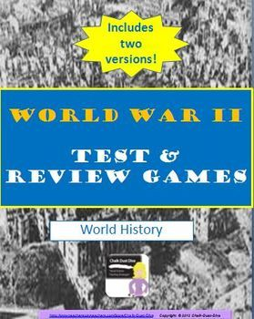 World war ii tests review games common core qs world history world war ii tests review games world history this product includes 2 versions easy and difficult multiple choice tests for world war ii designed gumiabroncs Choice Image