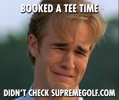 Check Supreme Golf for the best tee time deals. Nurse