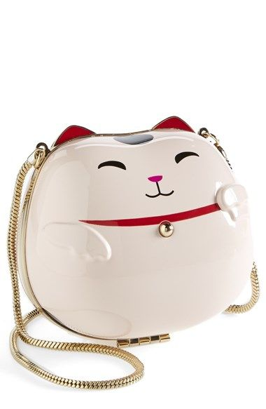 f88364126 kate spade new york 'lucky cat' clutch available at #Nordstrom | For ...